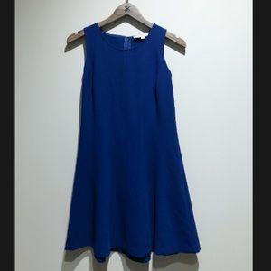 Ann Taylor LOFT Navy A-Line Dress